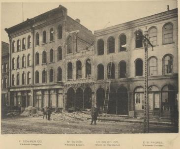Dohmen Bloch, Union Oil Company,  E. W. Andree