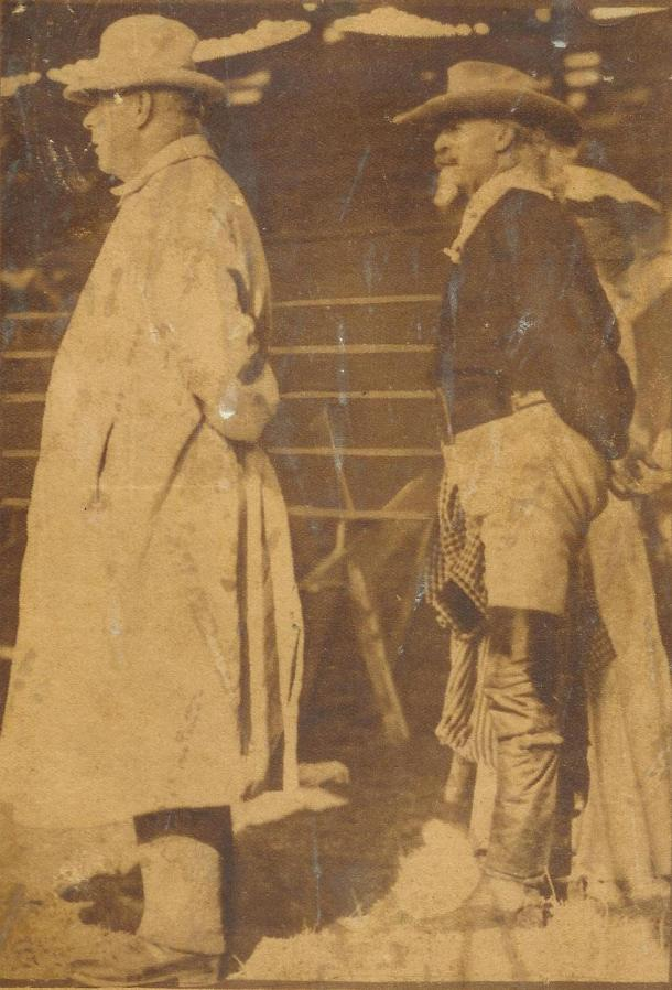 Buffalo Bill and Frederick Underwood