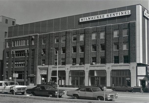 Milwaukee Sentinel Building c 1960
