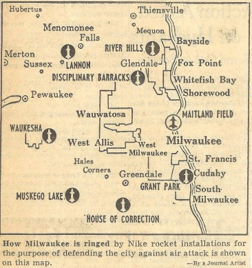 Nike Missile Defense System Locations